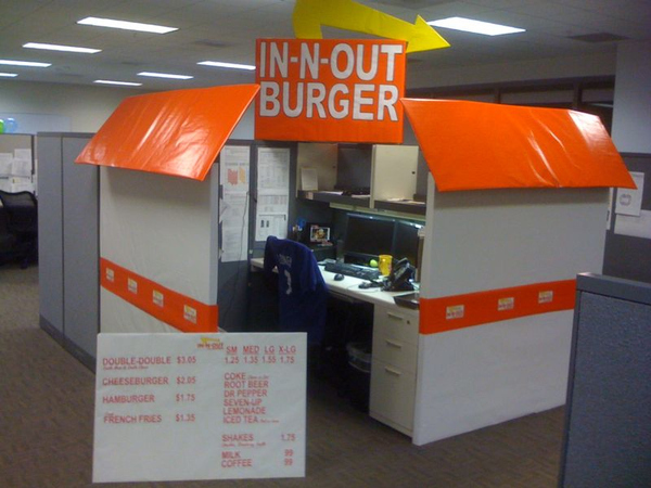 Cubicle Costume!