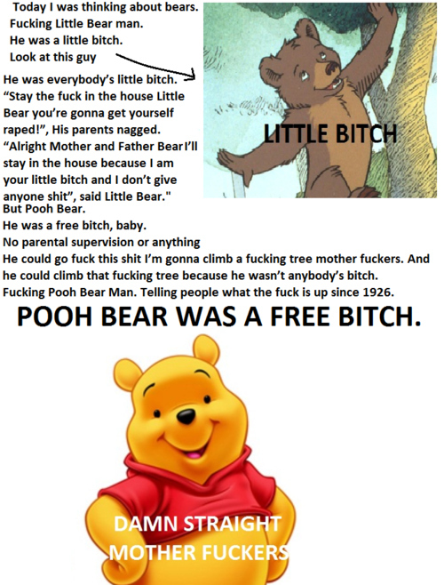 Pooh Bear Vs. Little Bear