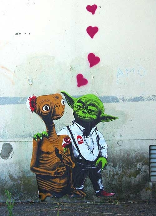 ET and Yoda: All You Need Is Love