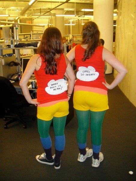 Double Rainbow Halloween Costume