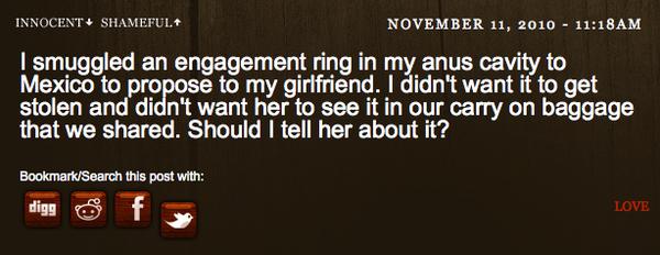 A Love Secret?