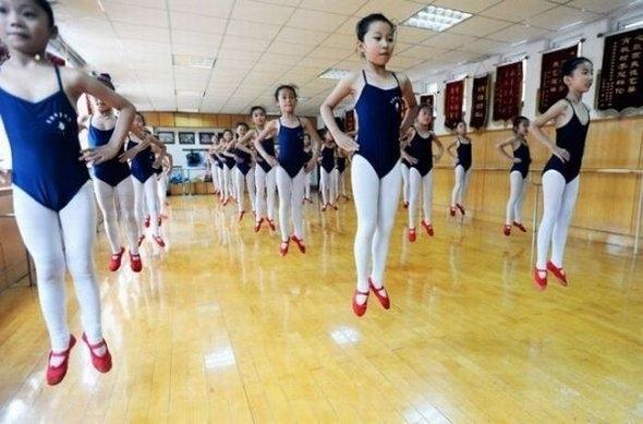 Hovering Ballerinas