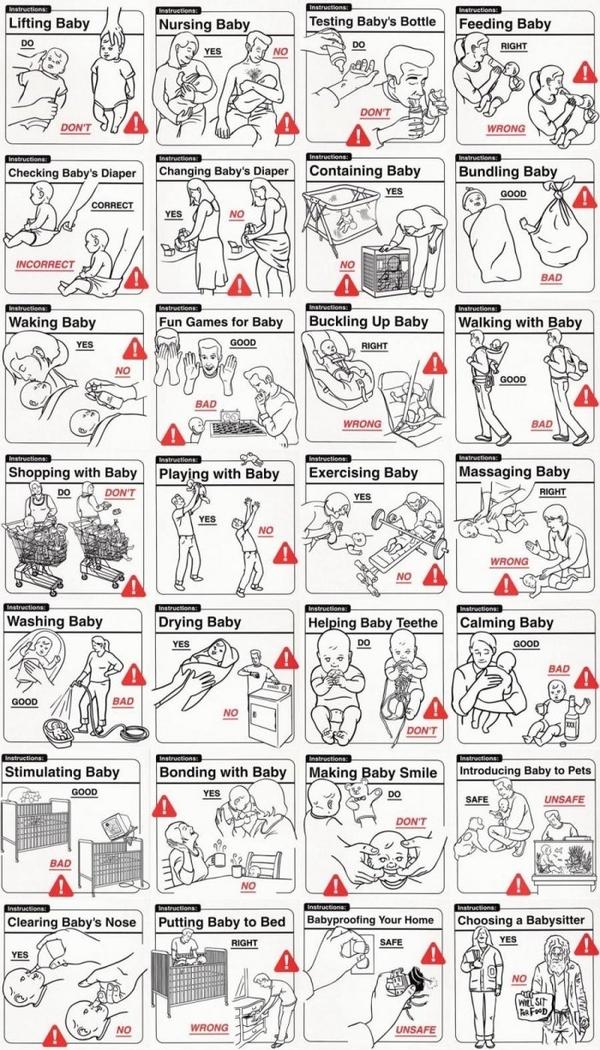 Best Instructions For New Parents