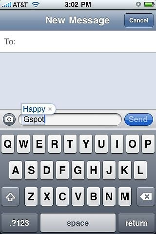 An Auto Correct for the Ladies
