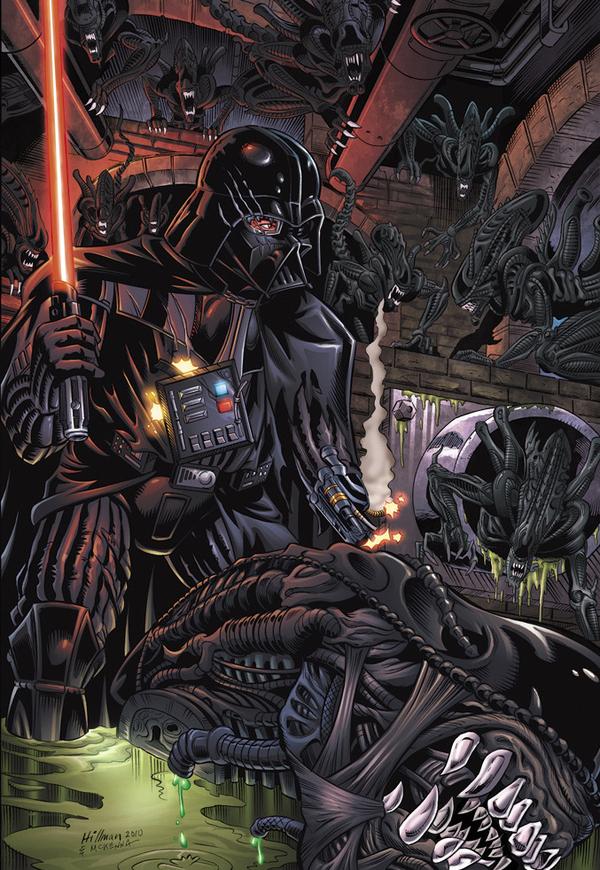 Aliens Vs. Vader