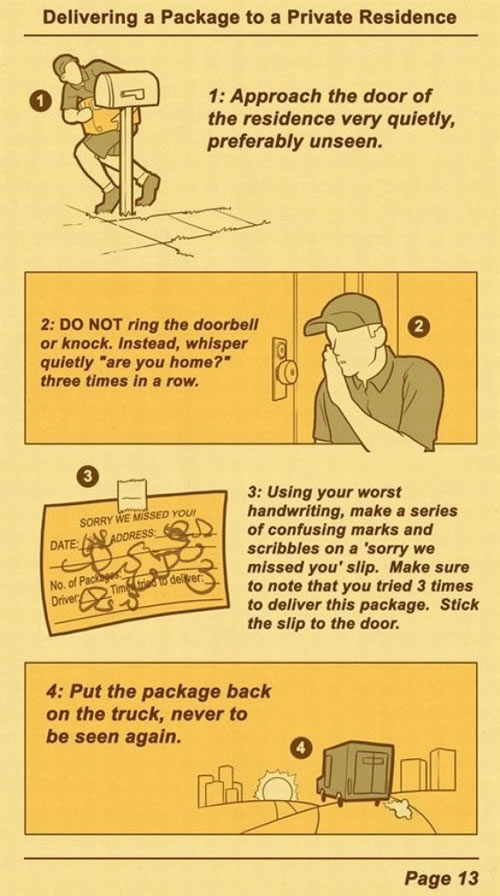 UPS Delivery Manual...probably