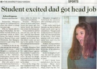 Daughter Excited for Dad