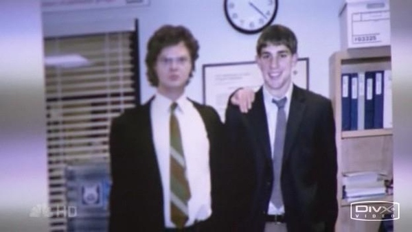 Jim Halpert and Dwight's 1st Photo from the Office...
