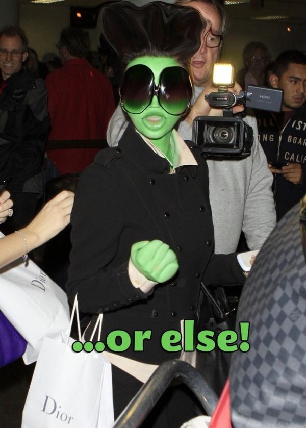 Kim Kardashian is a Hot Alien?
