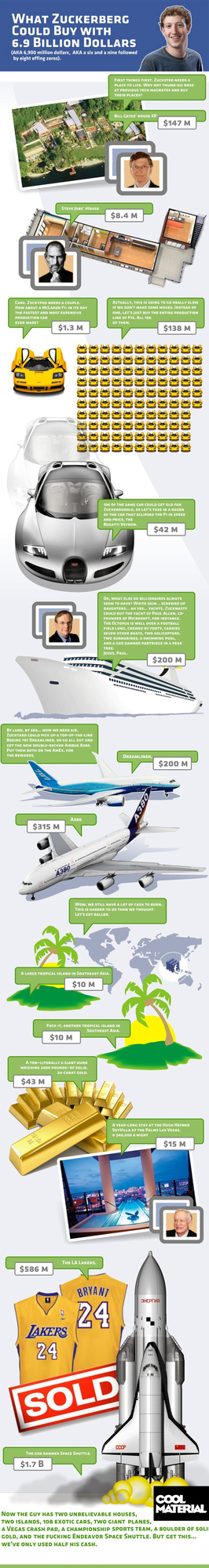 What Zuckerberg Could Buy With 6.9 Billion Dollar