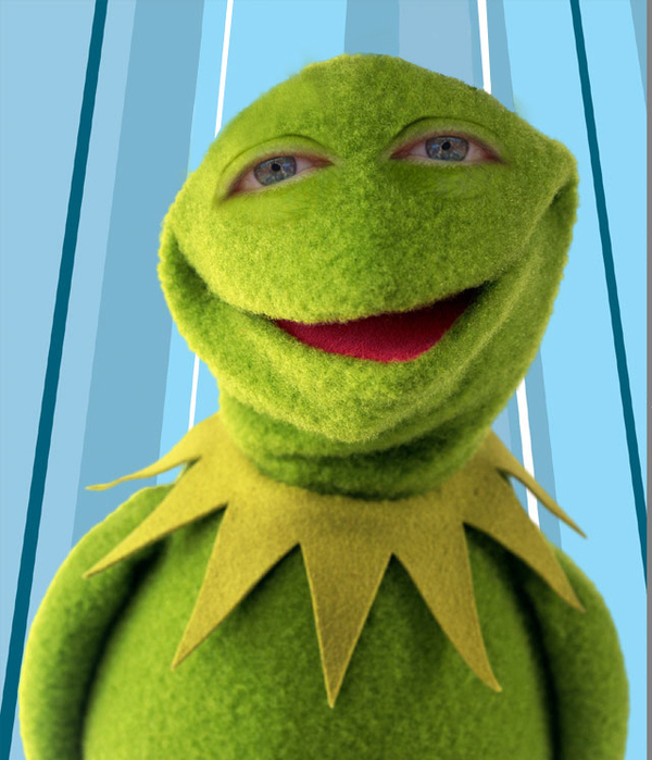 Kermit With People Eyes