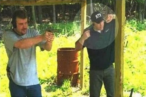 How Not To Cover Your Ears At The Range
