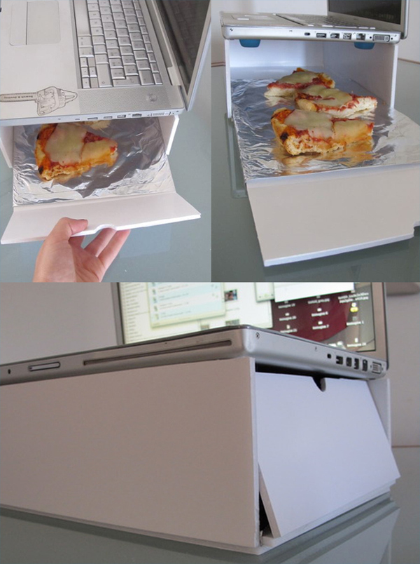 Mac-Oven: The Best Way To Heat Your Lunch!