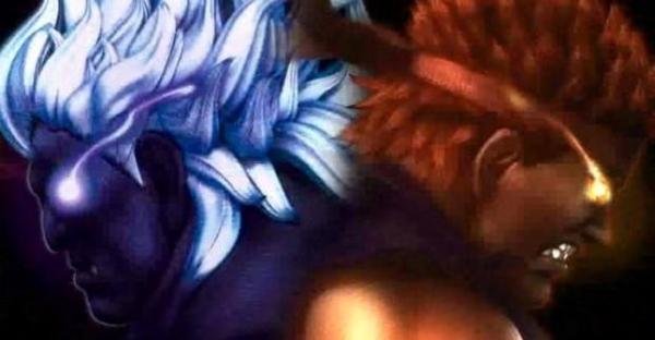 Evil Ryu and Oni Akuma Hit Super Street Fighter 4