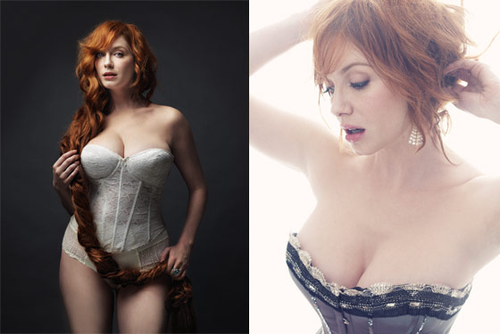 Christina Hendricks' NYMag Cover
