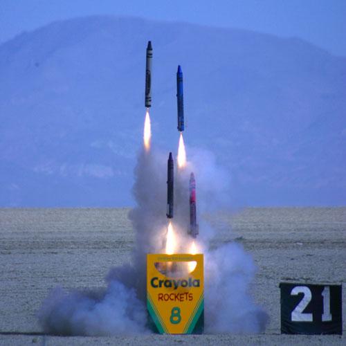 Crayon Rockets