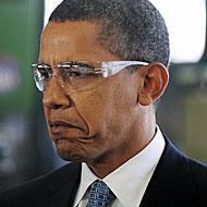 Obama Feigns Interest in Mundane Shit