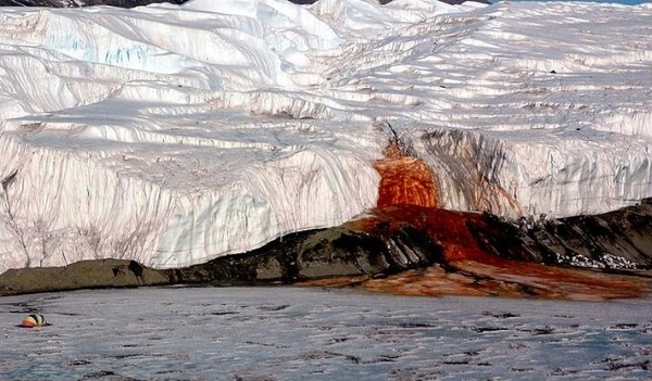 Bleeding Glacier