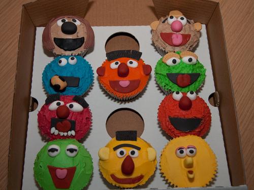 Muppet/Sesame Street Cupcakes