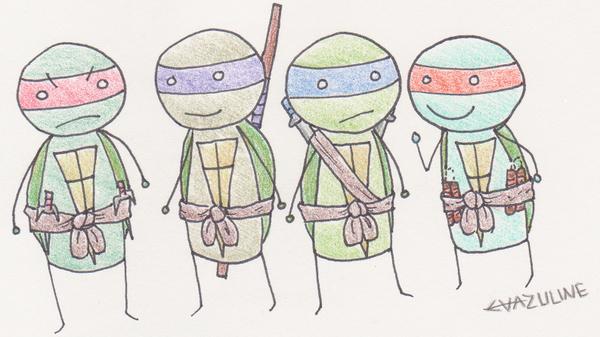 Stick Ninja Turtles