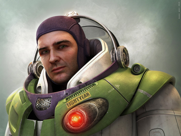Real Life Buzz Lightyear