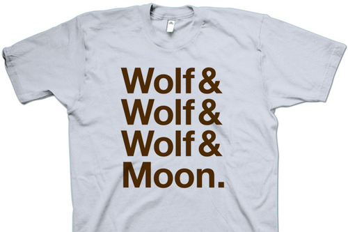 Wolf (x3) + Moon