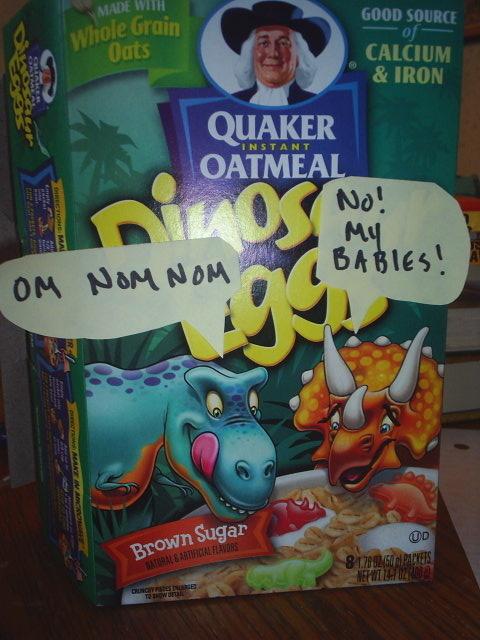 Dinosaurs For Breakfast