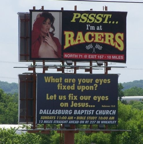 This Billboard Knows What's Up