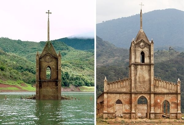 Submerged Church Reappears