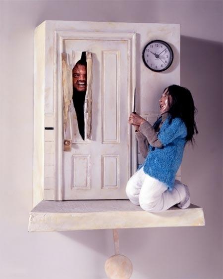 """The Shining"" Cuckoo Clock"