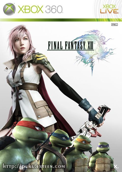 OMG, Final Fantasy XIII! (Spoilers)