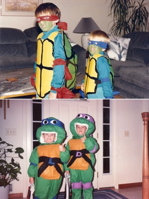 Old School Ninja Turtle Costumes