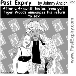 [CARTOON] Tiger Woods Return to Golf