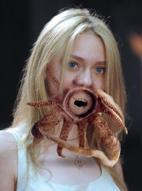 Buzz Mash: Dakota Fanning + Squid Teeth