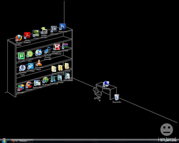 Clever Desktop Wallpaper