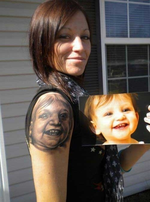 12 Reasons To Not Get A Tattoo of Your Baby