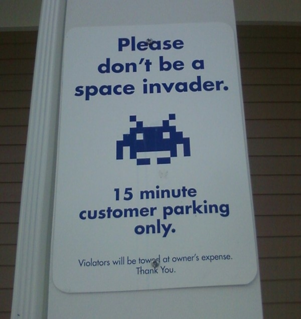 Please Don't Be a Space Invader