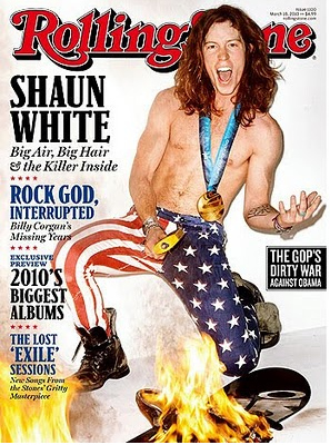 Shaun White Sets Rolling Stone On Fire