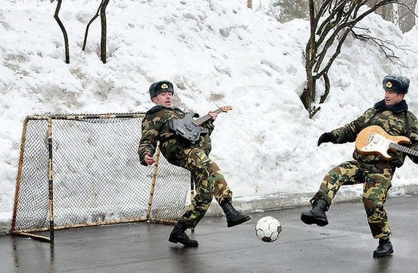 Russian Guitar Soccer