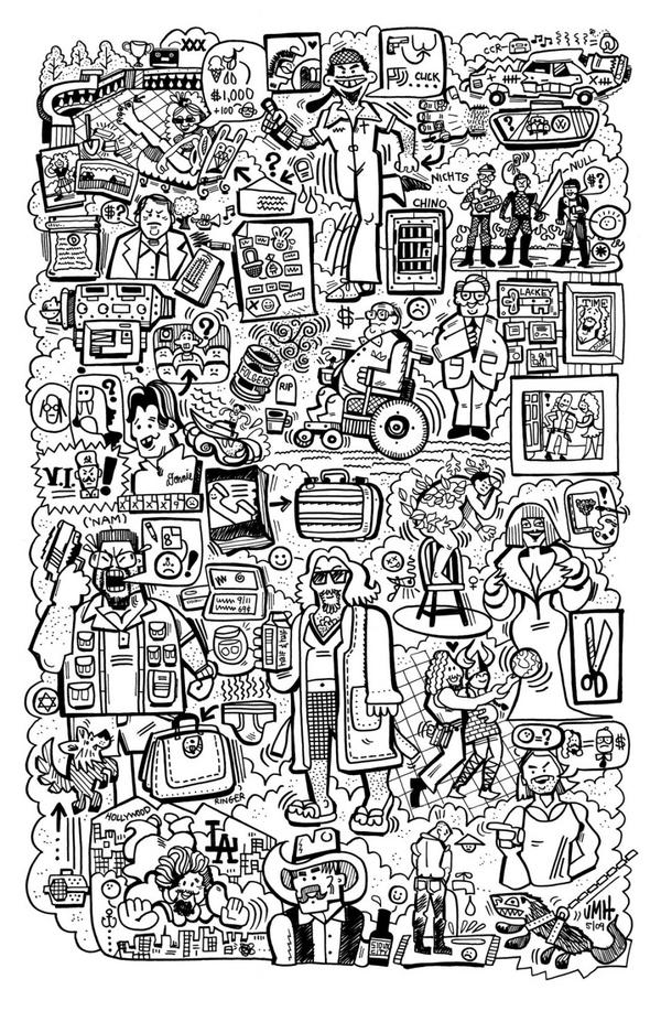 The Illustrated Lebowski