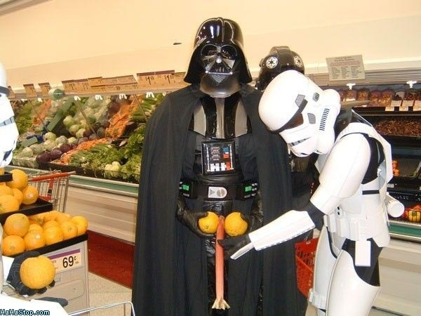 How to Have a Big One Like Darth Vader