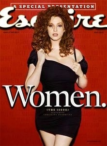 Christina Hendricks Esquire's Best Looking Woman in America