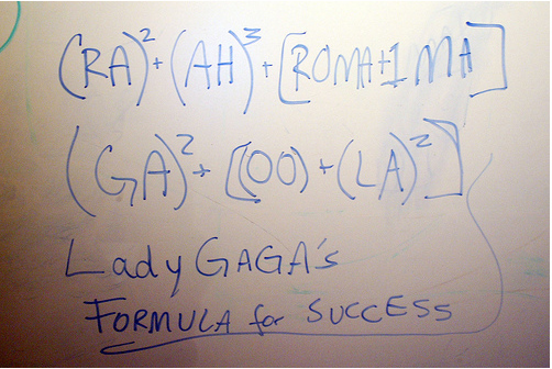 Lady Gaga's Formula For Success