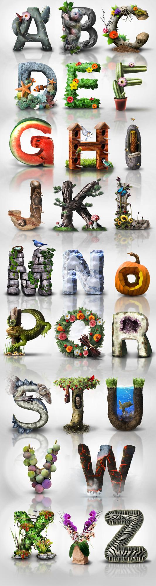 Earthday Typography