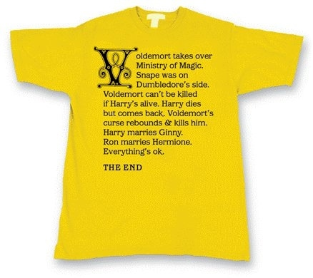 Spoiler Alert: Revealing Harry Potter T-Shirt