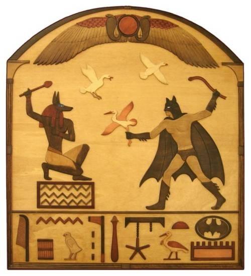 Anubis and Batman