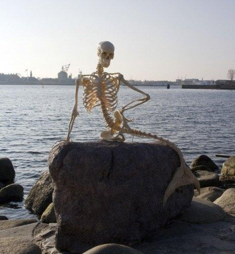 Skeleton Little Mermaid