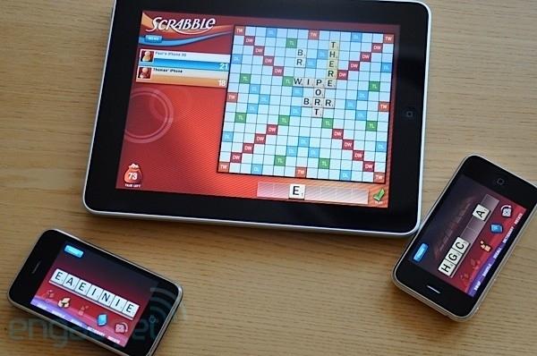 IPad Scrabble