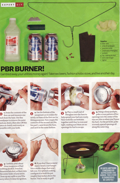 How to Make Your Own PBR Stove