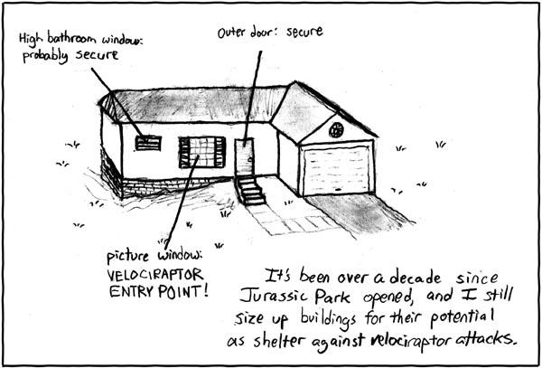 Velociraptor Home Security